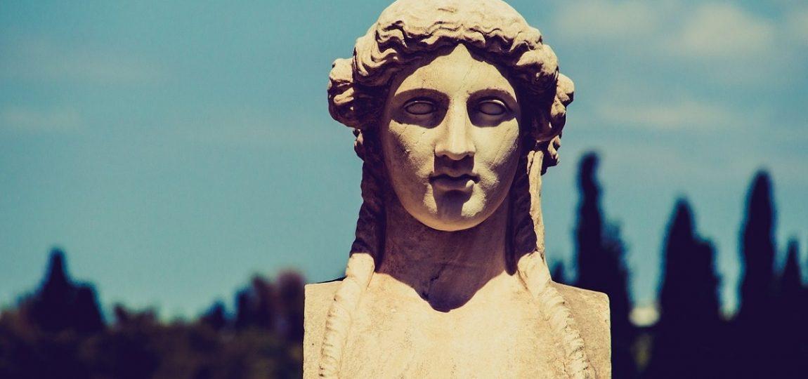 Posąg Bogini Ateny