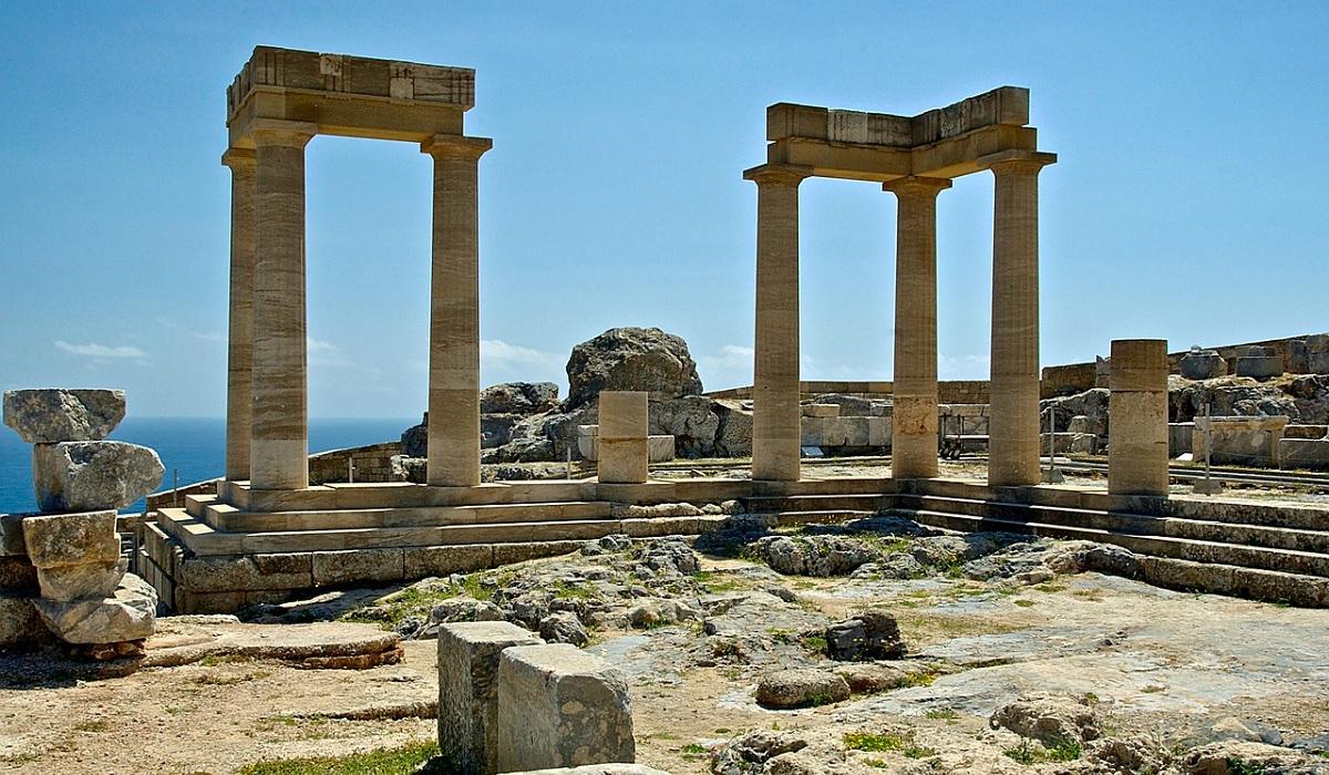 Greckie zabytki w Atenach