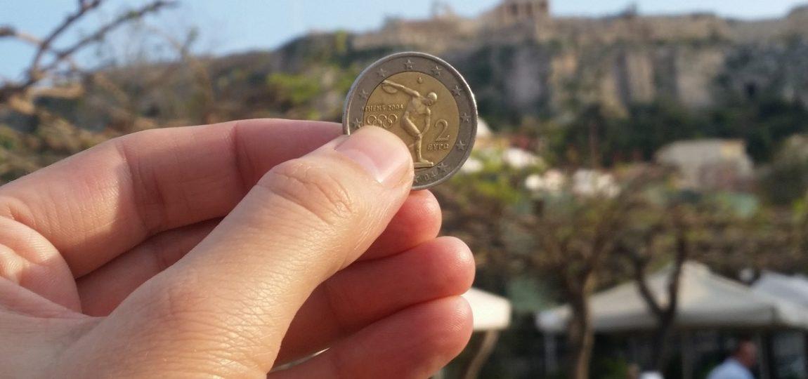 Euro - waluta Grecji