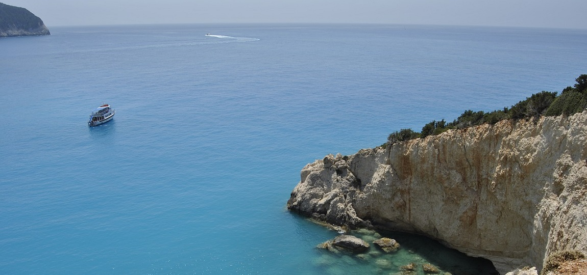 Lefkada - wyspa w Grecji